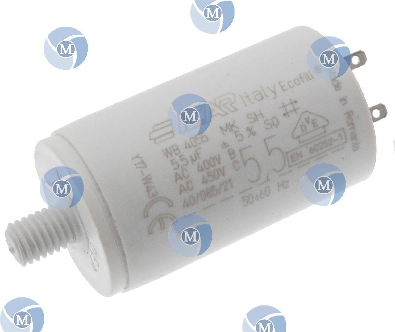 Condensateur de démarrage 5,5μF moteur volet roulant de marque Bubendorff