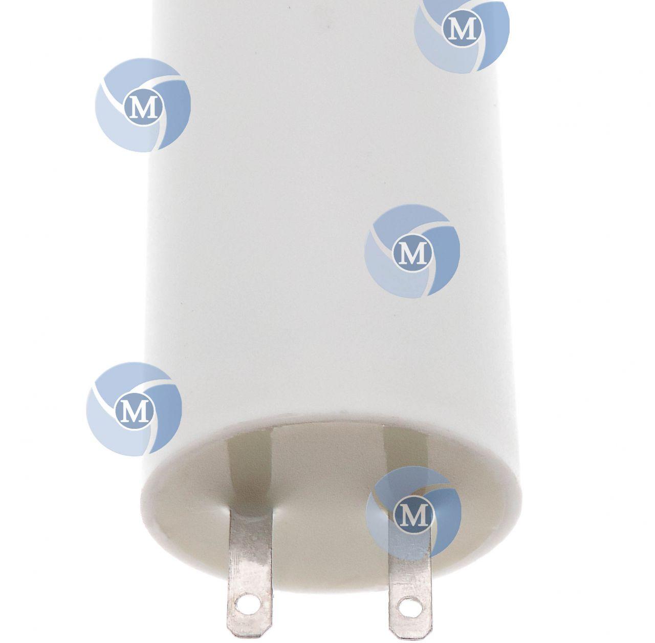 Condensateur 3 5 f special volet roulant 25mm et cosses 2 8mm - Condensateur volet roulant ...