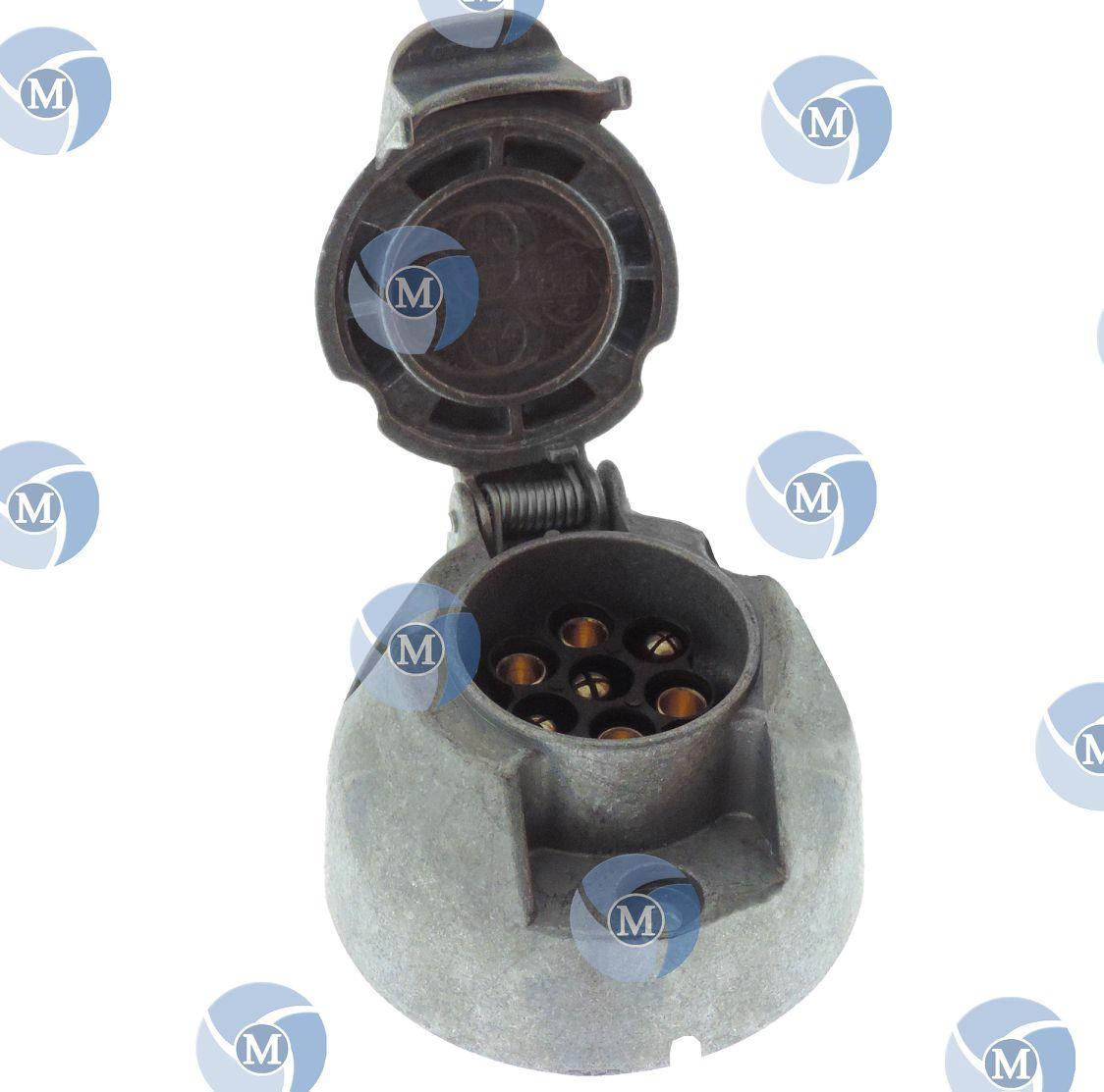 Fabriquer Socle Machine À Laver socle remorque femelle 12v - connexion : vis